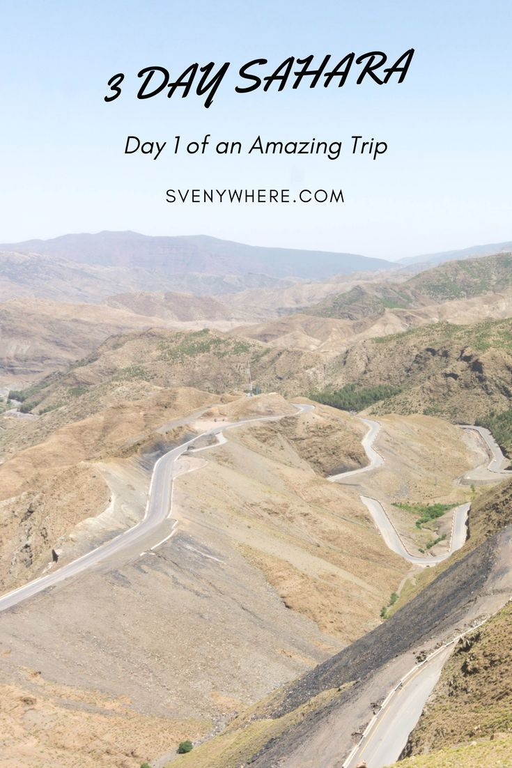 You HAVE to do a Sahara trip in Morocco. If you book a 3 day, 2 night trip then here is an overview what to expect on day 1 of your trip. No Morocco trip is complete without traveling to the Sahara. Figure out here what you will get during your trip. Don't forget to repin!