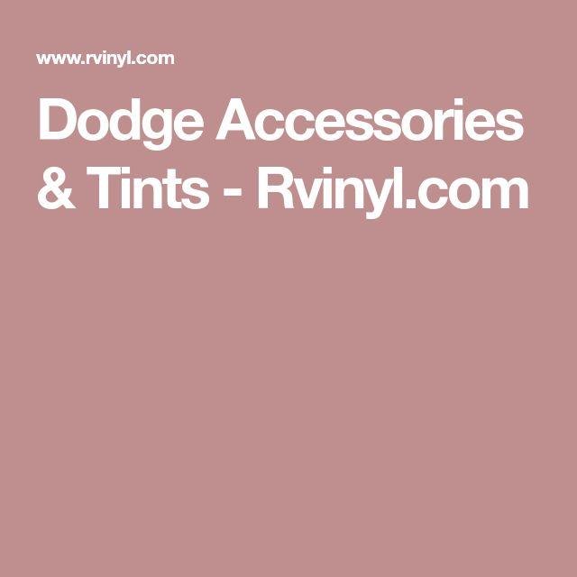 Dodge Accessories & Tints - Rvinyl.com