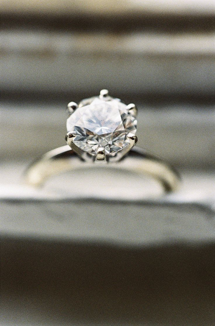 Classic #Engagement Ring! Killer wedding on #SMP is here -  http://www.stylemepretty.com/2013/01/01/los-angeles-greek-wedding-from-braedon-photography/  Braedon Photography