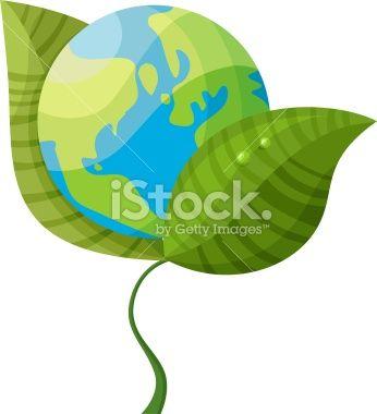 green planet Royalty Free Stock Vector Art Illustration