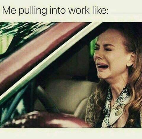 Some days...especially after vacation.lol