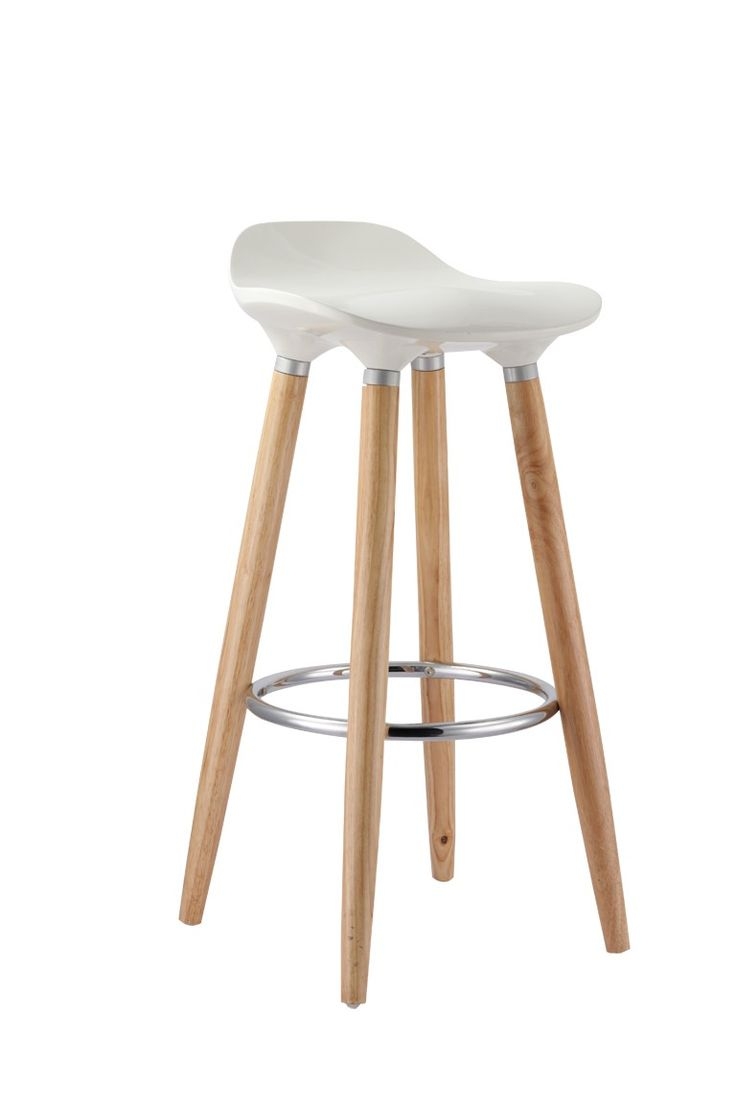 Bang Bang WHO - HUGH WHITE BAR STOOL, $59.00 (http://www.bangbangwho.com/bar-stools/hugh-white-bar-stool/)