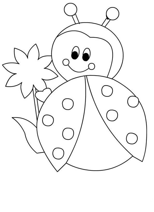 #uğurböceği #uğurböceğiboyama #uğurböceğikalıbı