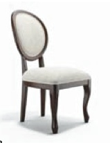8 for dining room (4 cowhide Norwalk stools to be used for extra seating when required)  G2803 geovin dining