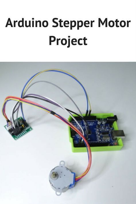 Arduino stepper motor project