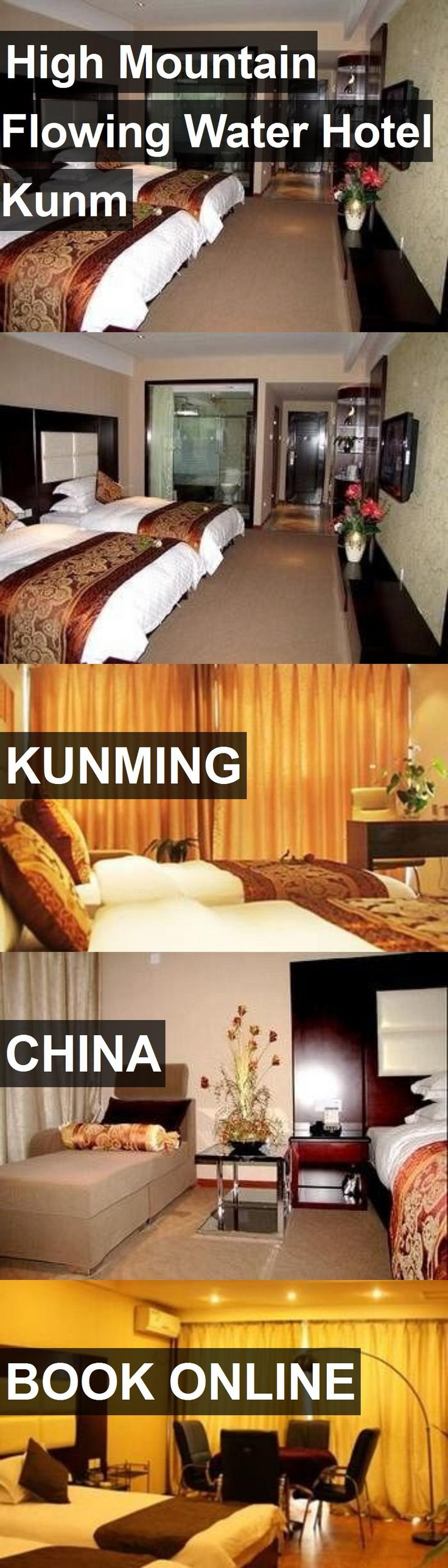 Hotel High Mountain Flowing Water Hotel Kunm in Kunming, China. For more information, photos, reviews and best prices please follow the link. #China #Kunming #HighMountainFlowingWaterHotelKunm #hotel #travel #vacation