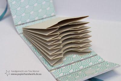- Papierhandwerk -: VIP Donnerstag - Fotoalbum selber machen / Mini Book