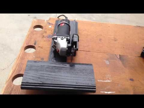 Angle Grinder Control By Foot Step Power Youtube Guide Pour Outil Outils