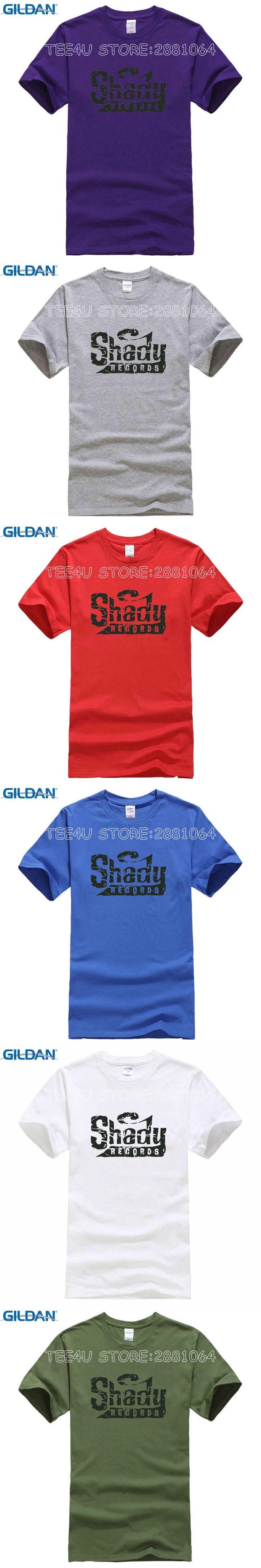 Tee4U T Shirt Tops Summer Crew Neck Men Casual Short Eminem The Real Slim Shady Tee Shirts
