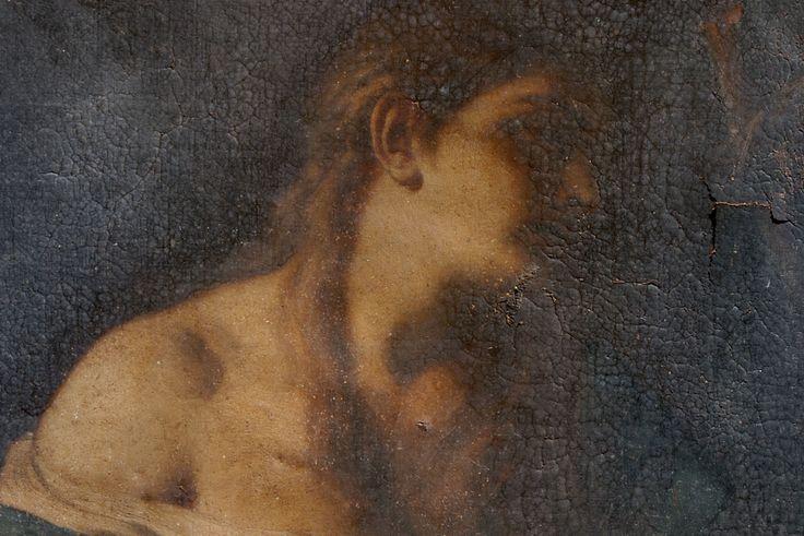 """Dipinto olio su tela raffigurante """"La Maddalena """". Prima tela, primo telaio , prima cornice. Misura con la cornice cm 70×85. Attribuzione scritta a Solimena dalla dott.ssa Mina Gregori."""