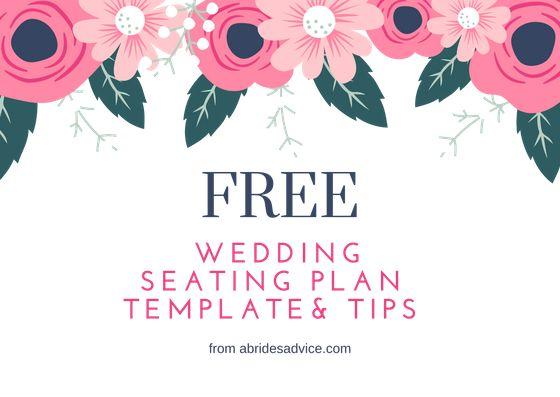 wedding seating plan templates