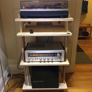 Hifi rack selbstbau  50 best Stereo images on Pinterest | Audio rack, Furniture and Vinyls