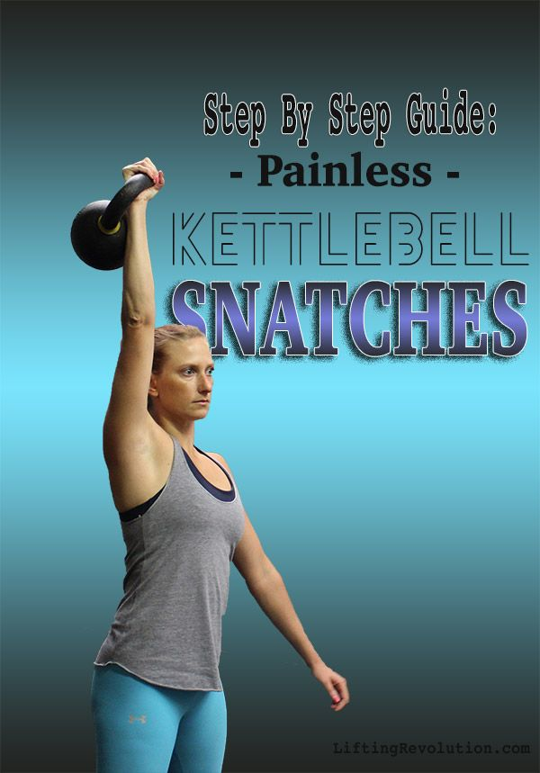 How To Do A Painless Kettlebell Snatch