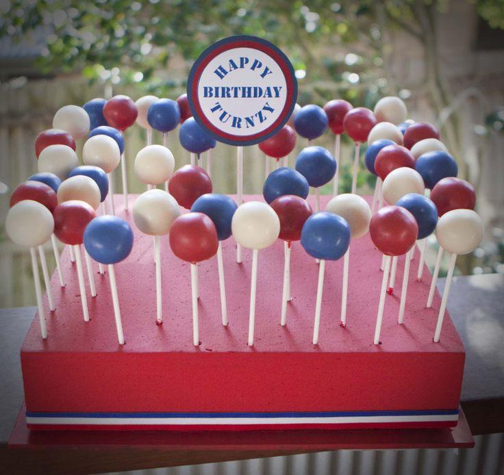 Sweetest Jubilee - 30th cake pops.
