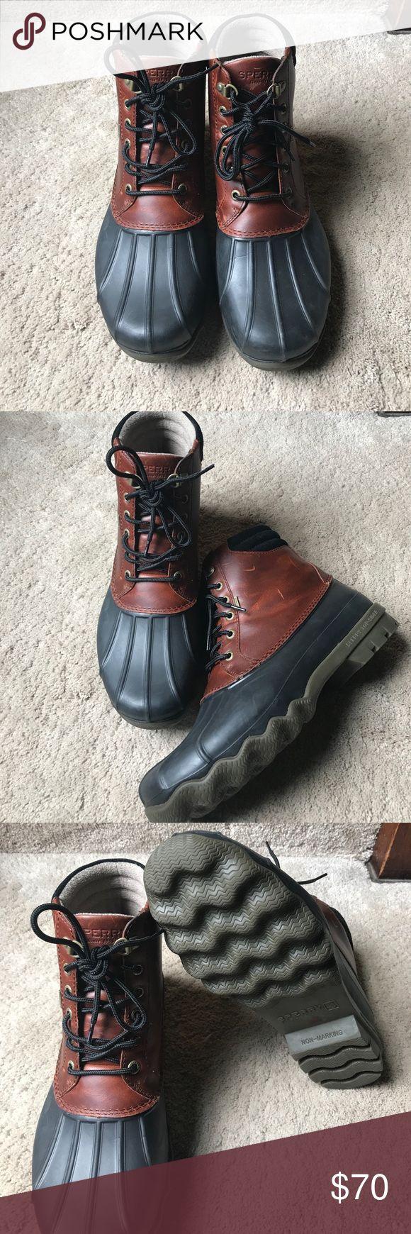 NWOT! Men's sperry boots NWOT!! Men's Sperry rain boots! Sperry Top-Sider Shoes Winter & Rain Boots