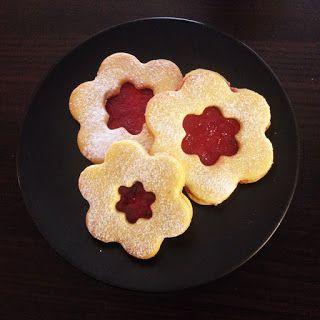 Krásné recepty od Aničky: Linecká kolečka