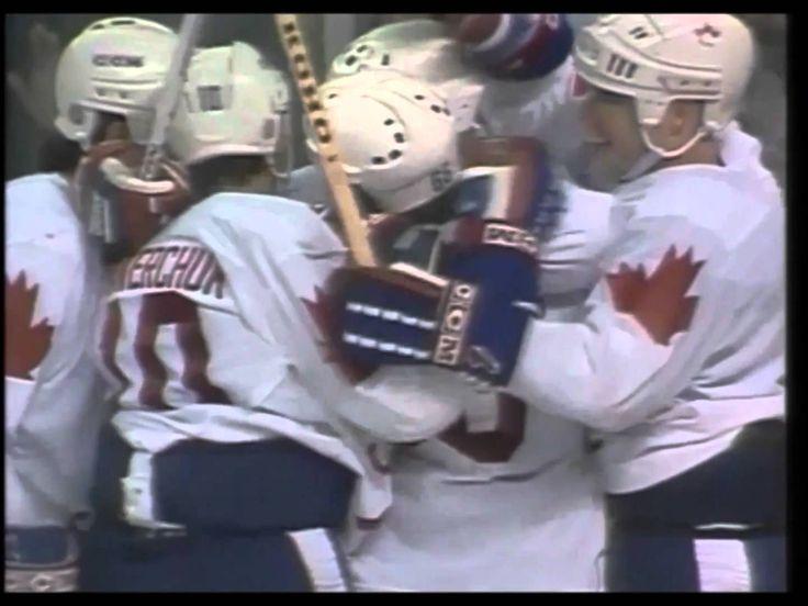 Canada Cup 1987, Lemieux goal