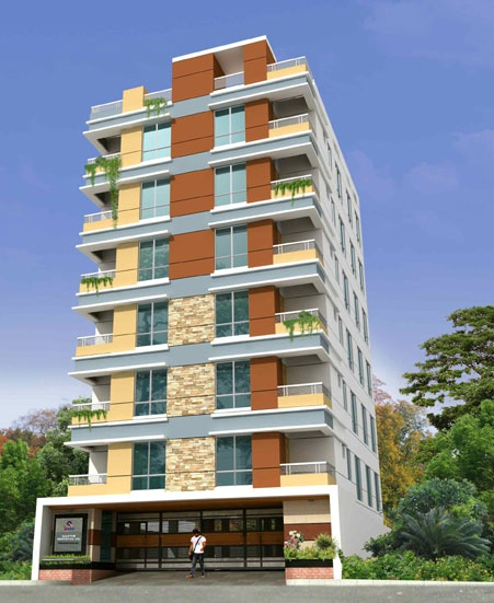Quantum Niloy Garden At South Banosree 873 Sft 3 Bed 2 Bath Apartments For Rent