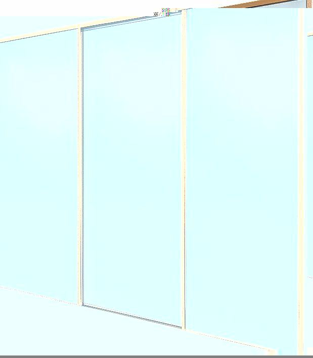 Spacepro 3 Door Framed Sliding Wardrobe Doors 3 classic, black framed mirror, sliding wardrobe doors. Ready assembled to fit onto matching trackset supplied. Features: Pre-Assembled for Easy Installation