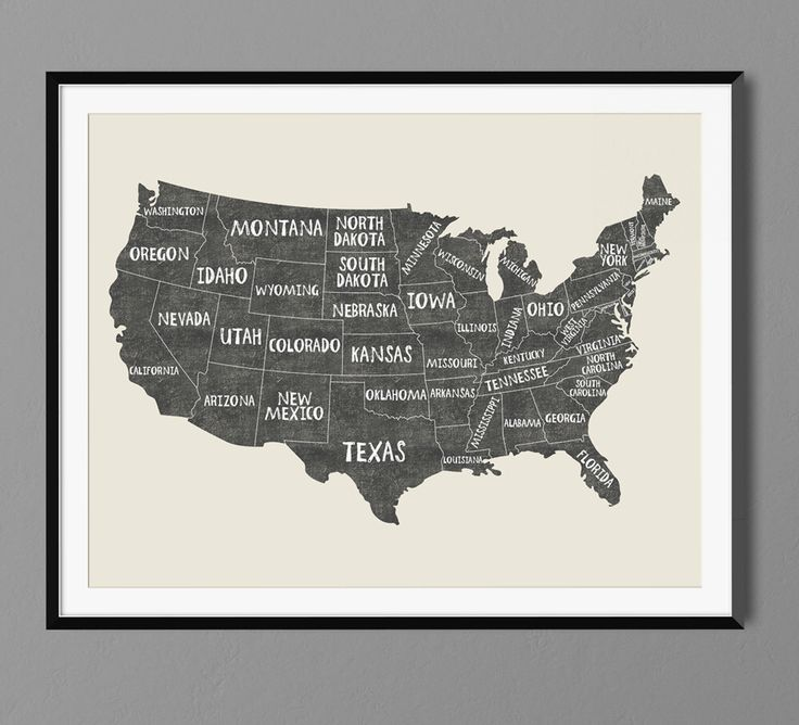 Best Usa States Names Ideas On Pinterest Usa Maps United - State map of us ohio to colorado