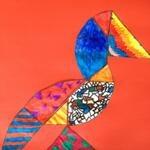 """Een #sprookjesvogel - """"Het lelijke jonge eendje"""" ei-tangram"""