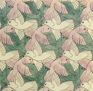 ESCHER bird pattern