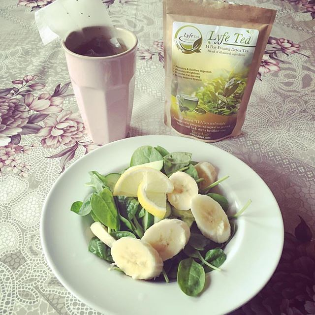 """Love lyfe tea! This is by far one of the best products I have ever bought! I feel great and it has really helped me lose weight!!"" - Nicole Y (website review) photo @ninimoel  #lyfetea #detox #love life #great #motivation #realresults"