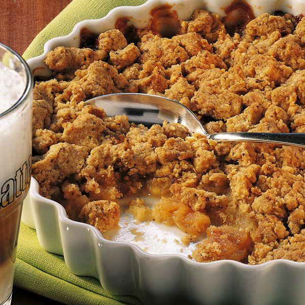 Apfel-Crumble | Rezept | Rezepte | Apple crumble pie ...