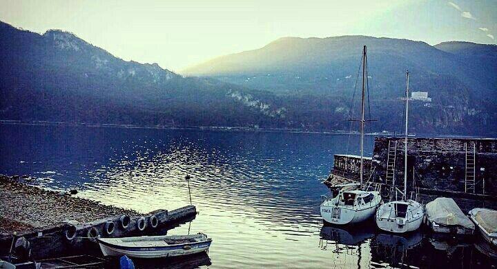 Porto, Abbadia Lariana  Lago di Como, Italia
