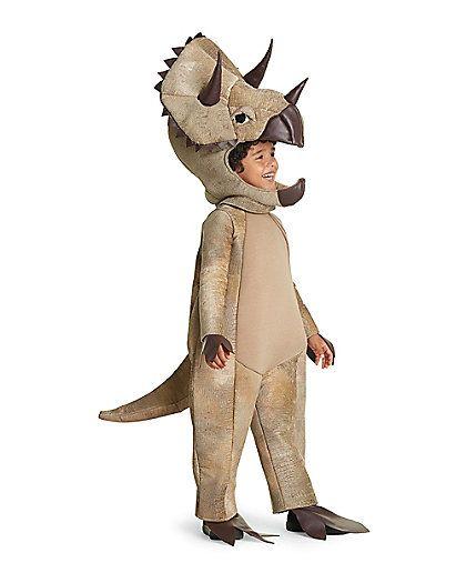 triceratops boys costume