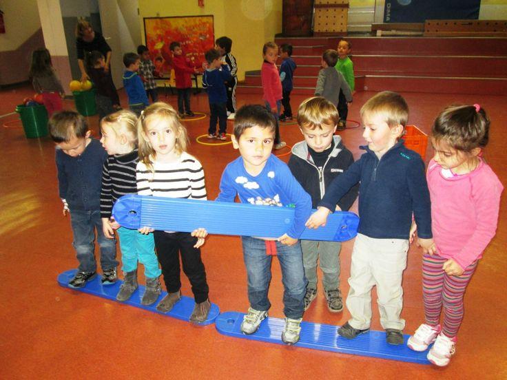 Jeux de coopération , La maternelle de Vivi