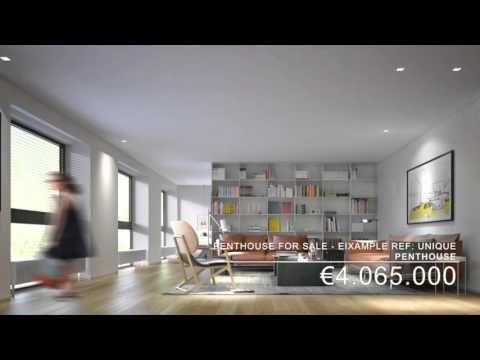 10 best Penthouse apartment images on Pinterest Architects - grau braun einrichten penthouse