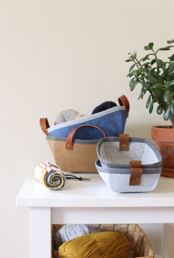 Bag Basket Tutorial and Pattern