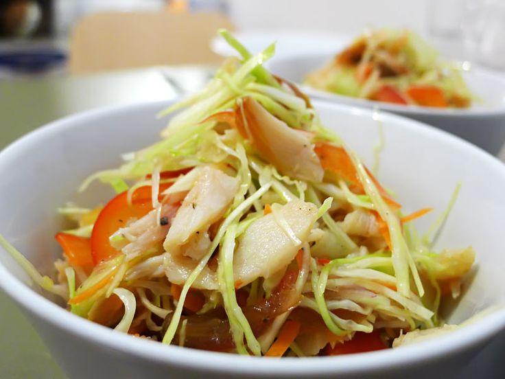 Smoked Fish Salad – Kreolischer Salat von den Seychellen - Low Carb