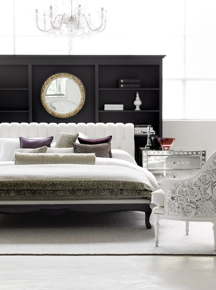 Sansone Classic Bed Made in Italy by Opera Contemporary, Art. 2380 Bedisde Made in Italy by Arte Veneziana. Available at Sarsfield Brooke.