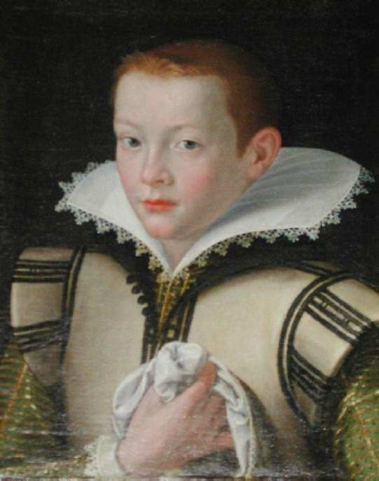 Edward VI, son of Henry VIII and third wife, Jane Seymour; brother of Mary I and Elizabeth I