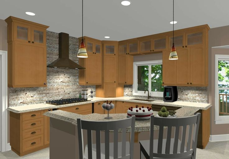 l-shaped kitchens with island   Shaped Kitchen with Island Ideas and Tips