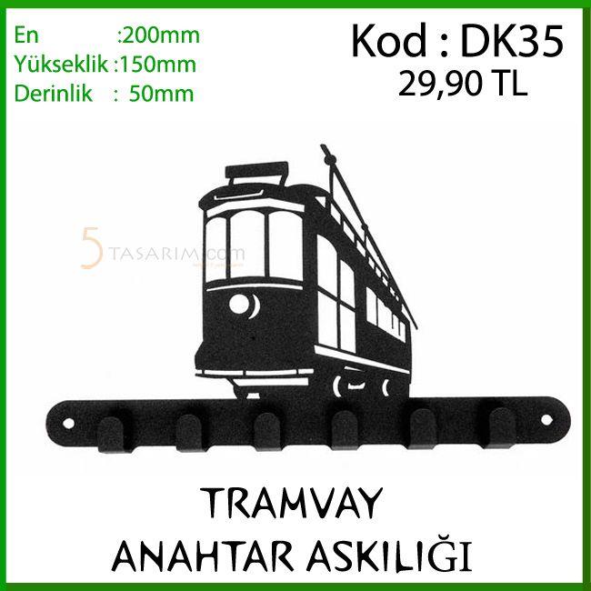 Tramvay Anahtar Askılığı modelleri