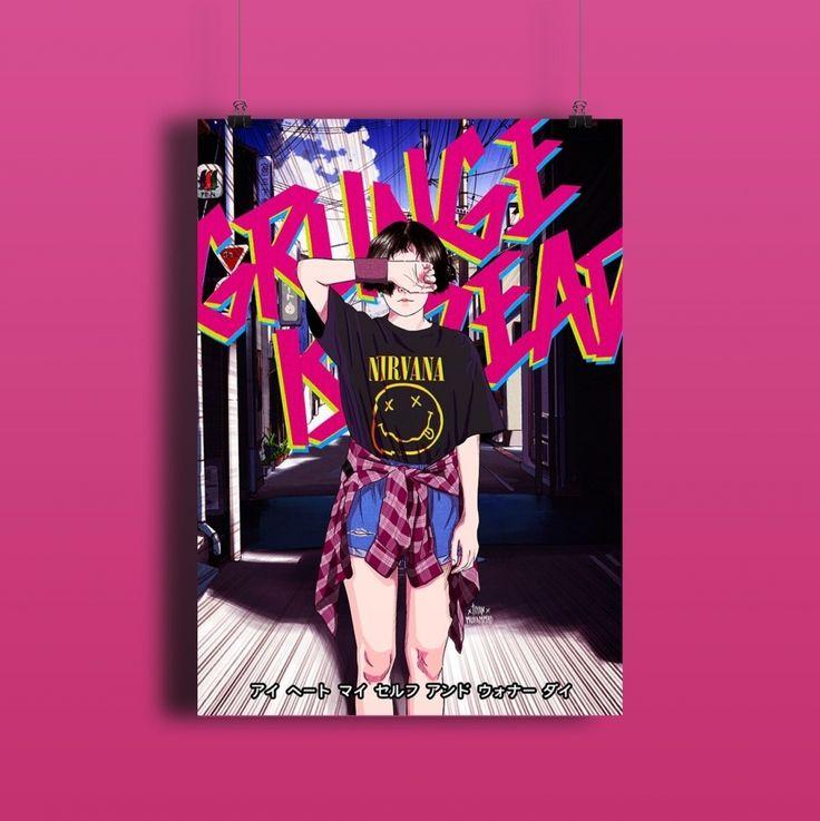 Grunge Is Dead | Kreavi.com