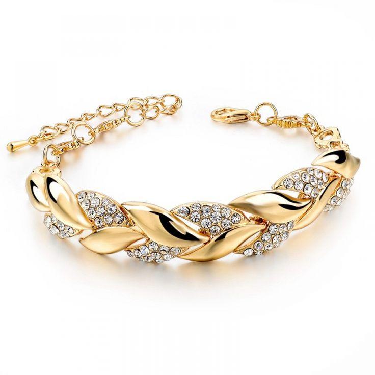 Women's Bracelet with Rhinestone