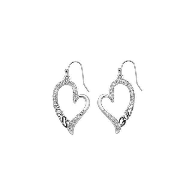 Boucle d'oreille guess wild at heart