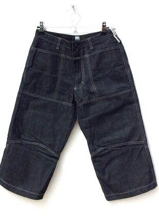 À vendre sur #vintedfrance ! http://www.vinted.fr/mode-femmes/pantacourts/29058338-pantacourt-denim-femme-marithe-francois-girbaud-3436-w34