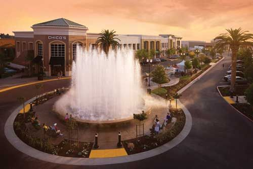 Fountains Roseville, California if you haven't gone, make it a point to stop by and walk the shops.