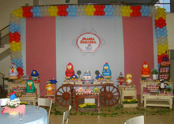 Chica Party Decorations