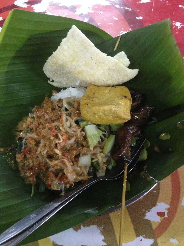Nasi Pecel Jawa