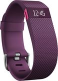 Fitbit - Charge HR Heart Rate and Activity Tracker + Sleep Wristband (Small) - Plum (Purple), FB405PMS