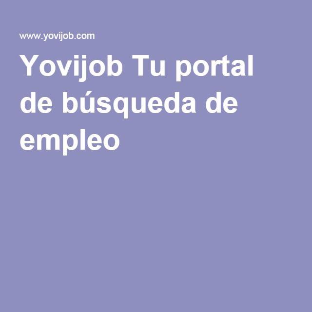 Yovijob Tu portal de búsqueda de empleo