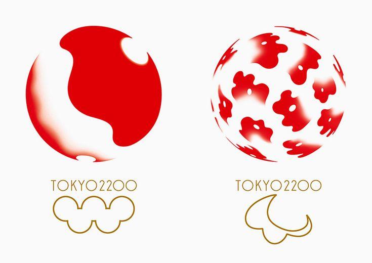kenya hara reveals logo proposal for the 2020 tokyo olympics