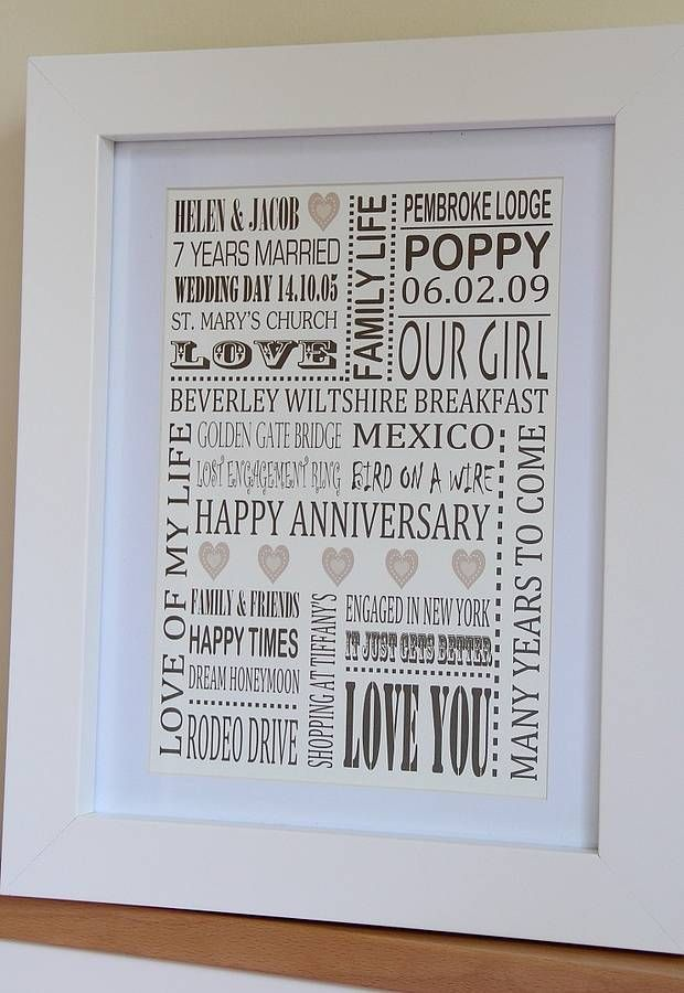 Personalise A Wedding Gift Made To Order