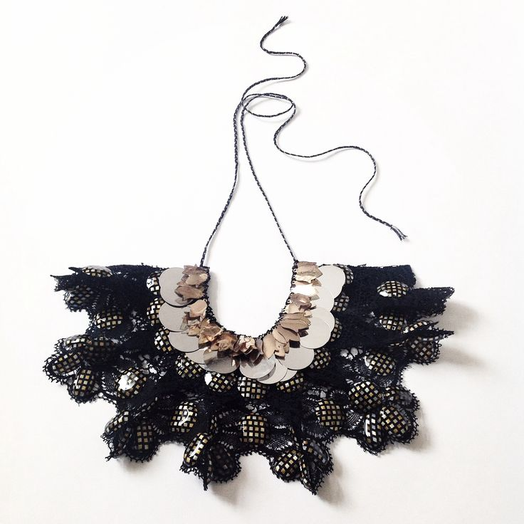 Emma Cassi black necklace